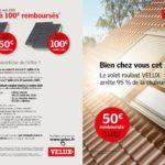 Promotion volet roulant solaire VELUX